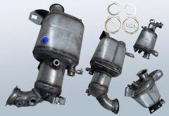 Dieselpartikelfilter VW T5 2.0 TDI (7HB 7HJ 7EB 7EJ 7EF)