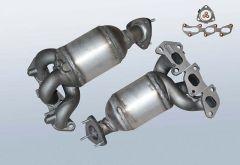 Katalysator OPEL Corsa C 1.0 Twinport (F08,F68)