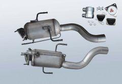 Dieselpartikelfilter VW Touareg 3.0 TDI (7LA,7L6,7L7)