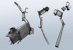 Dieselpartikelfilter AUDI A3 1.6TDI BM (8P1)