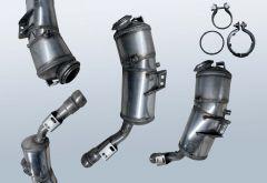 Dieselpartikelfilter MERCEDES BENZ S-Klasse S 350 CDI (W221)