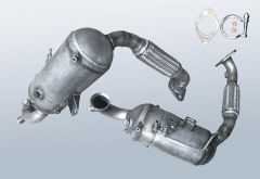 Dieselpartikelfilter MAZDA 2 1.6 CD (DE)