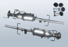 Dieselpartikelfilter MAZDA 6 2.0 CD (GG)