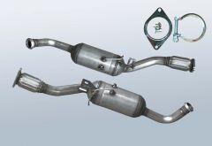 Dieselpartikelfilter RENAULT Trafic II 2.0CDTI (E83)