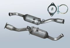 Dieselpartikelfilter OPEL Vivaro 2.0CDTI (E7)