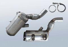 Dieselpartikelfilter BMW 325d (E92)