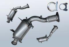 Dieselpartikelfilter VW Touareg 2.5 R5 TDI (7LA/7L6/7L7)