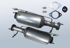 Dieselpartikelfilter FORD S-MAX SMAX 2.0 TDCI (WA6)