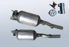 Dieselpartikelfilter RENAULT Grand Scenic II 1.9 dCi (JM14 JM15 JM1D)