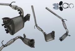Dieselpartikelfilter VW Polo 1.4 TDI (9N3)