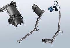 Dieselpartikelfilter VW Touran I 1.6TDI (1T-GP2)