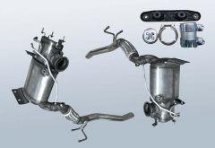 Dieselpartikelfilter AUDI A3 2.0 TDI (8P1)