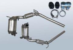 Dieselpartikelfilter VW Polo 1.9 TDI (9N3)