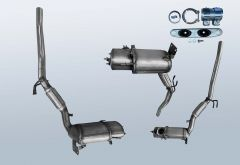 Dieselpartikelfilter VW Beetle 2.0 TDI (5C7)