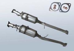 Dieselpartikelfilter FORD Ranger 2.2 TDCI (TKE)