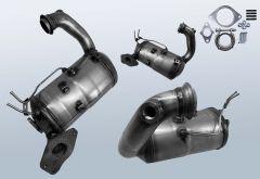 Dieselpartikelfilter RENAULT Megane III CC 1.5 dCi 110 (EZ0/1)