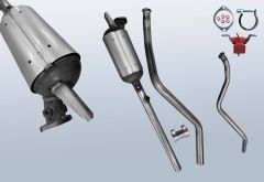 Dieselpartikelfilter RENAULT Laguna II 1.9 dCI (BG0/1)