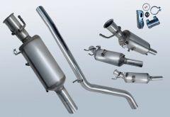 Dieselpartikelfilter MERCEDES BENZ B220 CDI (W246203)