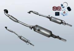 Dieselpartikelfilter OPEL Astra H 1.7 CDTI (L69)