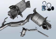 Dieselpartikelfilter AUDI A1 2.0 TDI (8X1 8XK)