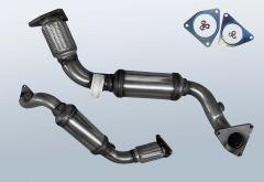 Katalysator VW Touareg II 3.0 V6 TDI 4M BMT (7P)