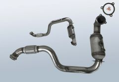 Katalysator Mercedes Benz CLA180 (C117342)