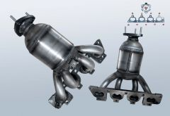Katalysator OPEL Astra G 1.6 16v (T98)