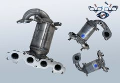 Katalysator FORD Fiesta V 1.25 16v (CBK)