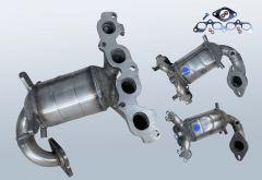 Katalysator FORD Fusion 1.6 16v (CBK)