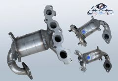Katalysator FORD Fiesta V 1.6 16v (CBK)