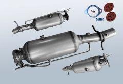 Dieselpartikelfilter FORD Transit 2.2 TDCI (TT9)