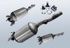 Dieselpartikelfilter RENAULT Megane II 1.9 dCi (BM0/1 CM0/1)