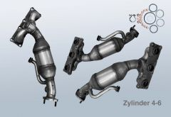 Katalysator BMW 3 325i (E90N)