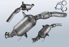 Dieselpartikelfilter BMW X3 2.0 d (E83N)