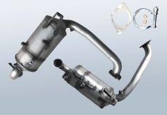 Dieselpartikelfilter MAZDA 3 1.6 DI Turbo (BK)