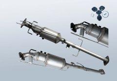 Dieselpartikelfilter MAZDA 6 2.2 CD (GH)