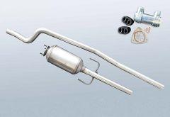 Dieselpartikelfilter OPEL Combo 1.3 CDTI