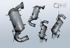 Dieselpartikelfilter OPEL Zafira C 2.0 CDTI (P12)
