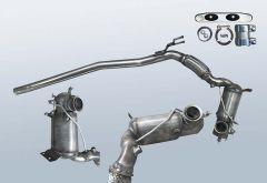 Dieselpartikelfilter VW Passat 2.0 TDI 4motion (3C2,B6)