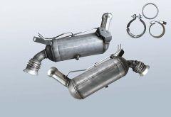 Dieselpartikelfilter MERCEDES BENZ C 200 T CDI BlueE (S204201)