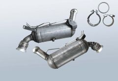 Dieselpartikelfilter MERCEDES BENZ C 200 CDI BlueEFF (W204001)