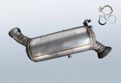 Dieselpartikelfilter MERCEDES BENZ E 220 CDI (W211008)