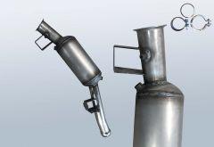 Dieselpartikelfilter MERCEDES BENZ ML 320 4matic CDI (W164122)
