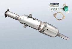 Dieselpartikelfilter RENAULT Fluence 1.5 dCi