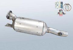 Dieselpartikelfilter RENAULT Espace IV 2.0 dCi (JK03_JK04)