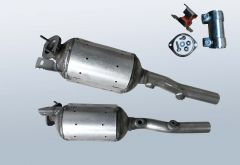 Dieselpartikelfilter RENAULT Grand Scenic II 1.9 dCi (JM14|JM15|JM1D)