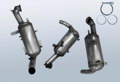 Dieselpartikelfilter OPEL Combo D 1.3 CDTI (X12)