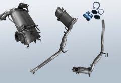 Dieselpartikelfilter VW EOS 2.0TDI (1F)