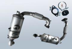Dieselpartikelfilter MAZDA 2 1.6 MZ-CD (DE)