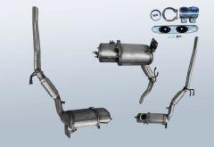 Dieselpartikelfilter VW Touran I 1.6 TDI (1T-GP2)